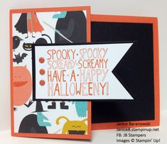 Spooky, Screamy Halloween by stampingdietitian - Cards and Paper Crafts at Splitcoaststampers