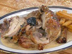 Casserole-Roasted Chicken with Truffles and Truffled Pan Sauce Tartufo Recipe, Pan Sauce Recipe, Truffle Sauce, Roasted Chicken, Food Network Recipes, Truffles, Cooking Tips, Casserole, Chicken Recipes