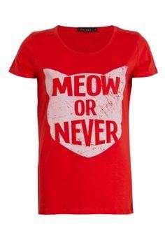Meow or Never tee