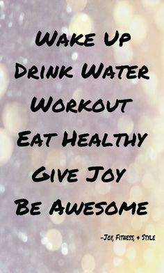 Fitness on Pinterest: Quotes and Inspiration | Joy, Fitness, & Style Amazing workouts, tips, and inspiration daily on http://YourFitness-Buddy.com