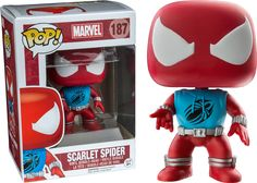 Marvel Scarlet Spider (Exclusive) - Most Wanted Christmas Toys Funko Pop Marvel, Funko Pop Spiderman, Scarlet Spider, Funko Pop Figures, Vinyl Figures, Action Figures, Funko Pop Display, Funko Pop Dolls, Funko Toys