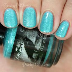 CrowsToes Ingrounded | Summer 2015 Nitty Gritty Collection | Peachy Polish