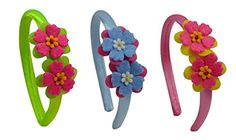 Girls 18 Inch Doll Headband Set Sweet Spring Doll Headband Boxed Gift Set ** Click on the image for additional details.
