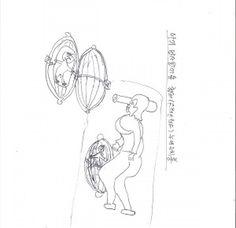 아기 압사방지용 스테인리스제 누에고치형 보호장비