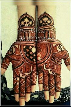 Henna is the most traditional part of weddings throughout India. Let us go through the best henna designs for your hands and feet! Indian Mehndi Designs, Stylish Mehndi Designs, Mehndi Designs For Girls, Mehndi Design Pictures, Wedding Mehndi Designs, Unique Mehndi Designs, Beautiful Mehndi Design, Mehndi Designs Book, Mehndi Images