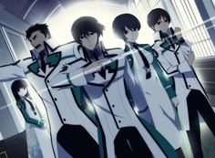 'The Irregular At Magic High School' Anime  Love this anime!!!!!
