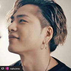 3代目j Soul Brothers, Diamond Earrings, Pearl Earrings, Asian Men Hairstyle, Heart Of Gold, Full Moon, Pure Products, Hair Styles, Instagram