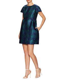 Cotton Brocade Mini Dress by Manoush at Gilt