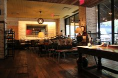 Almond NYC - Great rustic atmosphere, cozy with delicious food.