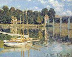 Claude Monet - Die Brücke von Argenteuil