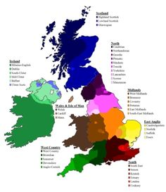 English Dialects of the British Isles