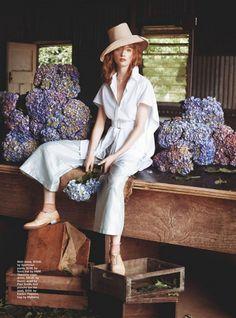 Marie Claire Australia February 2015 | Olivia O'Driscoll | Corrie Bond