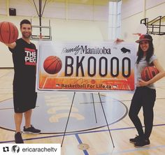 @ericaracheltv with our basketball license plate! Support the #BasketballForLife Fund  In 2015 the @raptors donated $20000 to formally launch the program which provides access to the sport to inner city kids and new Canadians.  See all clips from the show this week at http://ift.tt/1aJGCLD or in the 92CITI YouTube page.