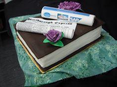 Book Cake for Marlborough Express by Lisa Templeton, via Flickr