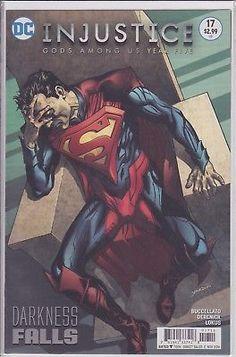 Injustice Gods Among Us Year 5 #17 Darkness Falls DC Comics 2016 Superman