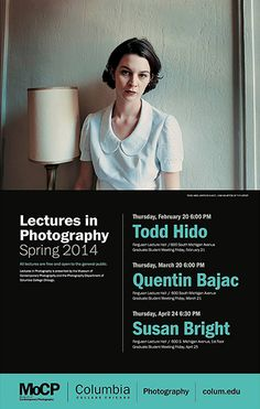 MoCP Lecture Poster - Susan Bright