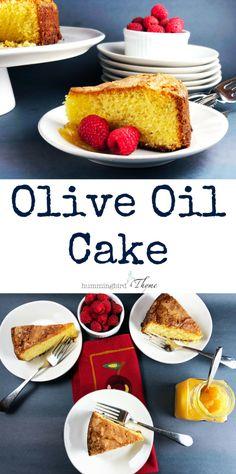 Cake Olive Oil