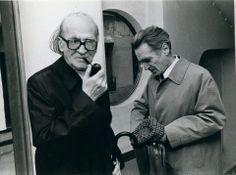 Mircea Eliade and Emil Cioran Emil Cioran, Romanian Flag, Jean Paul Sartre, Religion, Writers And Poets, Charles Darwin, Friedrich Nietzsche, Role Models, Famous People