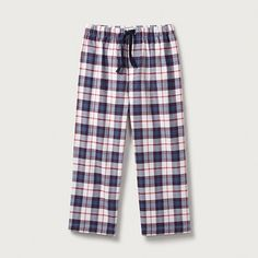 Classic Flannel Pyjama Bottoms (2-12yrs) | Boys' Nightwear | Boys | The Little White Company | The White Company UK
