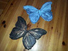 Keramiek, vlinders in opdracht. Ria Jeurissen