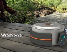 Want this! A portable stove cooks your food anywhere you take it. (culturewav.es)
