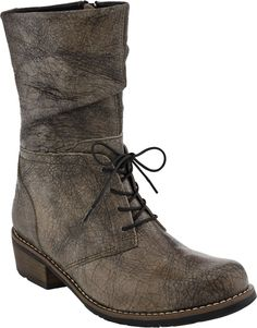 Wolky Claude women's boot (Rustic Taupe Fantasy Leather)