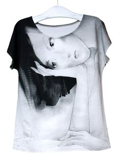SKRZYDŁA   Szept M www.szeptm.pl #watercolor #blouse #wings #woman #clotches