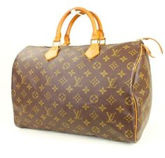 Louis Vuitton (**trusted Tradesy Seller**) Speedy 35 Monogram Satchel. Save 46% on the Louis Vuitton (**trusted Tradesy Seller**) Speedy 35 Monogram Satchel! This satchel is a top 10 member favorite on Tradesy. See how much you can save