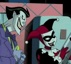 New trendy GIF/ Giphy. love smile kiss joker harley quinn. Let like/ repin/ follow @cutephonecases