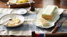 Cucumber and smoked trout terrine (terrine de truite fumée au concombre)