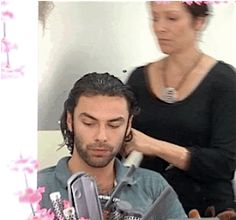 """aidanturnercorner: """"thedarkpoldark: """"Taming the curls """"a tough job """" """" Mitchell clips we don't know? Is this a wonderful joke! Oh please, where were the first 3 squares from? Maybe the dvd? Aidan Turner Kili, Aidan Turner Poldark, Aiden Turner, Ross Poldark, Adrian Turner, Aidan Turner Being Human, Being Human Uk, Fili And Kili, Out Of Touch"""