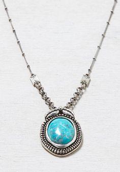 Turquoise AEO Turqouise Pendant Necklace