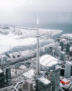 """The Polar Vortex Will Be Hitting Canada With An """"Arctic Blast"""" This Week Toronto Ontario Canada, Toronto City, Downtown Toronto, Arctic Blast, Winter Scenery, City Photography, Toronto Photography, Winter Is Coming, Toronto Canada"""
