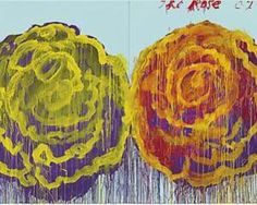 The Rose (III) - Cy Twombly