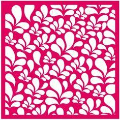 Silhouette Design Store: flourish leaf background