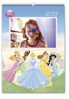 Calendario de Pared Princesas Disney (Grande)