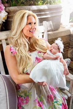 Jessica Simpson with baby Maxwell