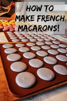How to make fool proof french macarons! The Fool, Macarons, Cereal, French, Breakfast, How To Make, Food, Morning Coffee, French People