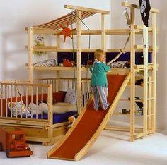 Baupläne für Abenteuerbett Piratenbett Spielbett Gullibo und ähnliche MOA4