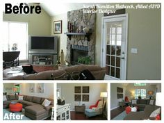 Before and After, designed by Sarah Hamilton Hathcock, Allied ASID