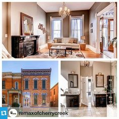 #Repost from @remaxofcherrycreek Love historic charm? Check out today's featured new listing on our blog. A classic beauty in Curtis Park. www.rmcherrycreek.com/blog #curtispark #denver...