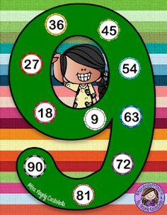 SGBlogosfera. María José Argüeso: REPASAMOS LAS TABLAS DE MULTIPLICAR Kindergarten Math Worksheets, Preschool Math, Teaching Math, Math Activities, Math Blocks, Maths Puzzles, Math Board Games, Diy Classroom Decorations, Classroom Rules