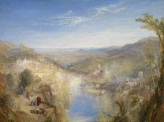 Turner, Modern Italy, The Pifferari, Glasgow Museums