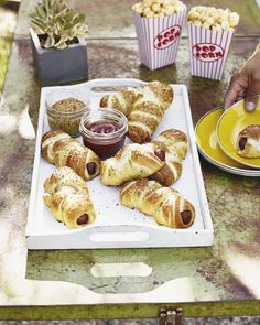 Parmesan Pretzel Dogs from www.whatsgabycooking.com