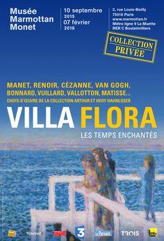 Villa Flora : Les temps enchantés au Musée Marmottan - Monet. Affiche
