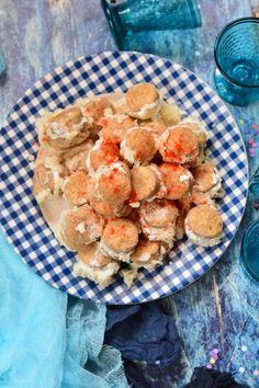 Szakállas pogácsa recept Pancakes, Breakfast, Food, Morning Coffee, Essen, Pancake, Meals, Yemek, Eten