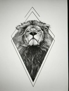 Lion tattoos hold different meanings. Lions are known to be proud and courageous.Lion tattoos hold different meanings. Lions are known to be proud and courageous creatures. So if you feel that you carry those same qualities in you, a lion tatt Kunst Tattoos, Leo Tattoos, Tattoo Drawings, Body Art Tattoos, Sleeve Tattoos, Tattoo Art, Shape Tattoo, Tattoo Fonts, Color Tattoo