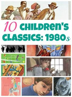 Classic children's books from the 80s. Some are well known, others less so. Do you remember reading these?