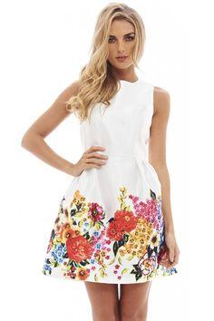 floral skater dress - Google Search