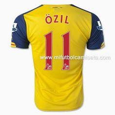camiseta de Ozil 1st Arsenal 2015 barata
